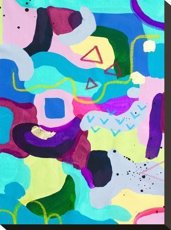 Frenzie-Deb McNaughton-Stretched Canvas Print