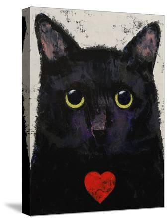Love Cat-Michael Creese-Stretched Canvas Print