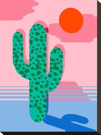 No Foolin-Wacka Designs-Stretched Canvas Print