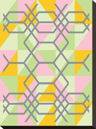Geometrix-Ashlee Rae-Stretched Canvas Print