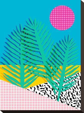 Mondo-Wacka Designs-Stretched Canvas Print