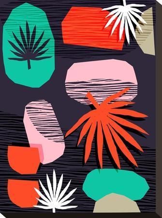 Dank-Wacka Designs-Stretched Canvas Print