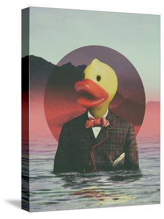 Rubber Ducky-Ali Gulec-Stretched Canvas Print