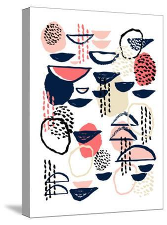 Cheli-Charlotte Winter-Stretched Canvas Print