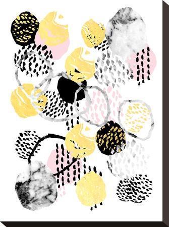 Amalia-Charlotte Winter-Stretched Canvas Print