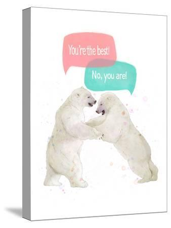 Best Friends-Laura Graves-Stretched Canvas Print