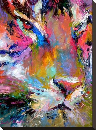 Tiger-Richard Wallich-Stretched Canvas Print