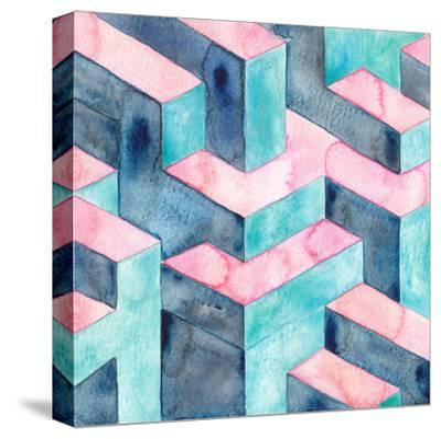 Watercolour Illusion-Elena O'Neill-Stretched Canvas Print