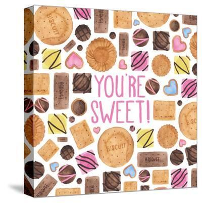 Youre Sweet-Elena O'Neill-Stretched Canvas Print
