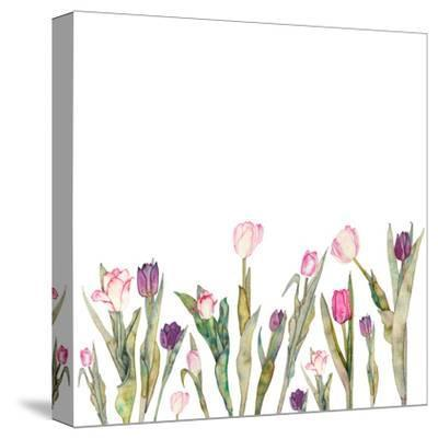 Tulips-Elena O'Neill-Stretched Canvas Print