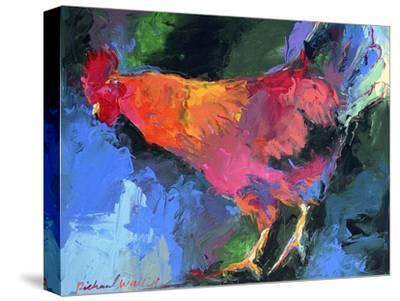 Rooster-Richard Wallich-Stretched Canvas Print