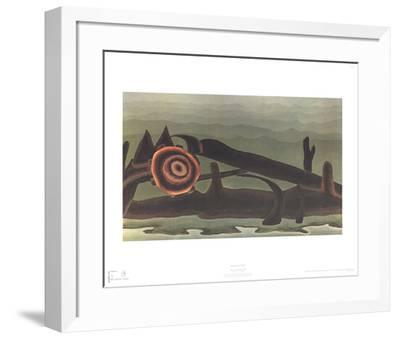 Ferry Boat Wreck-Arthur Dove-Framed Art Print