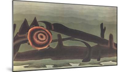 Ferry Boat Wreck-Arthur Dove-Mounted Art Print