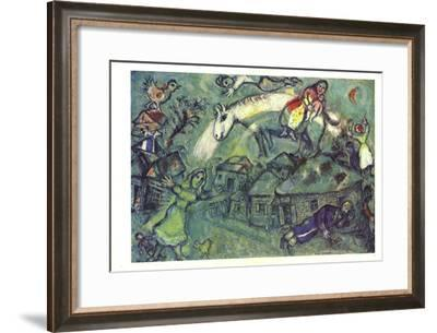 DLM No. 182 Pages 12,13-Marc Chagall-Framed Art Print