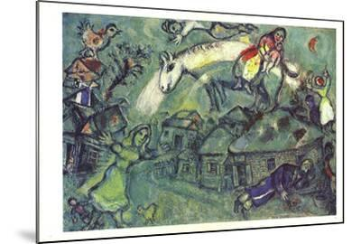DLM No. 182 Pages 12,13-Marc Chagall-Mounted Art Print
