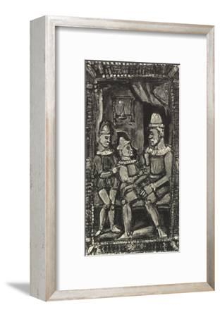 Three Figures-Georges Rouault-Framed Art Print