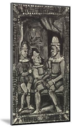 Three Figures-Georges Rouault-Mounted Art Print