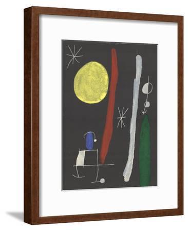 Sans Titre-Joan Miro-Framed Art Print