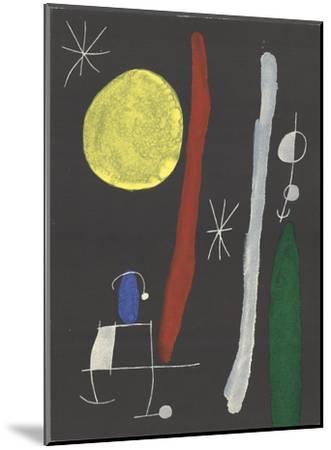 Sans Titre-Joan Miro-Mounted Art Print
