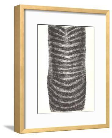 Drawing for a Torso II-Rodolphe Raoul Ubac-Framed Art Print