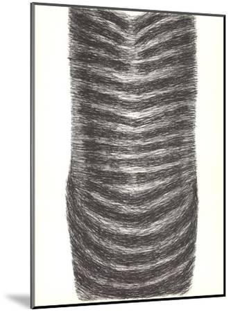 Drawing for a Torso II-Rodolphe Raoul Ubac-Mounted Art Print