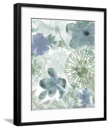 Bouquet of Dreams II-Delores Naskrent-Framed Art Print