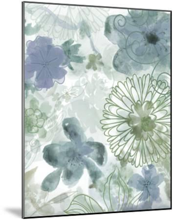 Bouquet of Dreams II-Delores Naskrent-Mounted Art Print