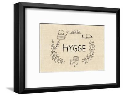 Simply Hygge-Lottie Fontaine-Framed Art Print