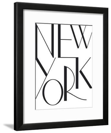Simply NYC-Joni Whyte-Framed Art Print