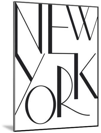Simply NYC-Joni Whyte-Mounted Art Print