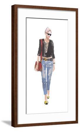 Downtown Cool-Sandra Jacobs-Framed Giclee Print