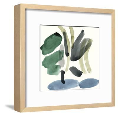 Organic Abstraction - Splatter-Maja Gunnarsdottir-Framed Giclee Print