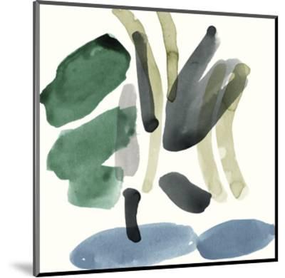 Organic Abstraction - Splatter-Maja Gunnarsdottir-Mounted Giclee Print