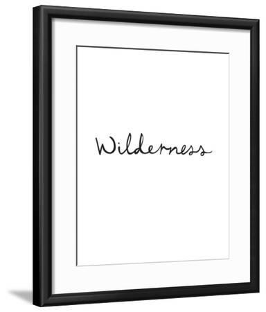 Wilderness-Clara Wells-Framed Giclee Print