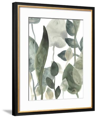 Water Leaves III-June Erica Vess-Framed Art Print