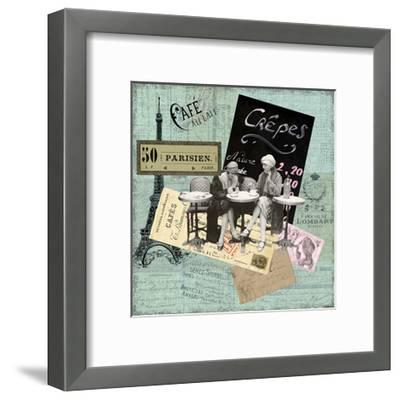 Paris Bistro I-Sandy Lloyd-Framed Art Print