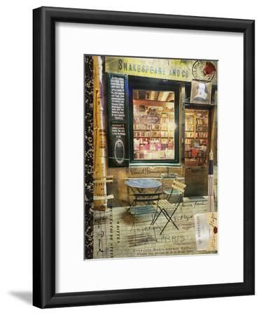 Paris Bistro II-Sandy Lloyd-Framed Art Print