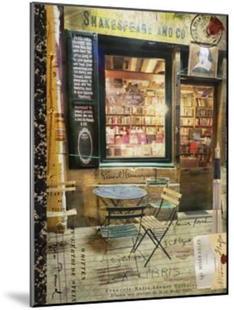 Paris Bistro II-Sandy Lloyd-Mounted Art Print