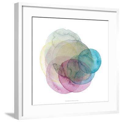 Evolving Planets II-Grace Popp-Framed Giclee Print