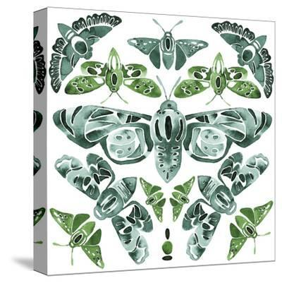Kaleidoscope Moths-Kristine Hegre-Stretched Canvas Print