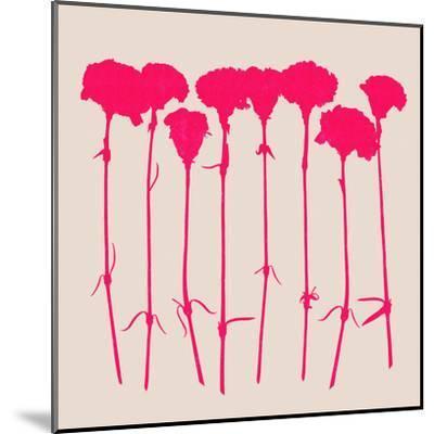 Carnations 2-Garima Dhawan-Mounted Art Print