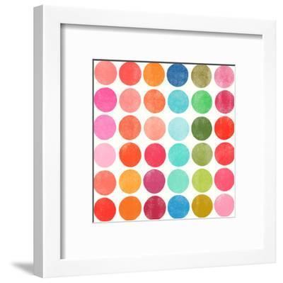 Colorplay 5-Garima Dhawan-Framed Art Print