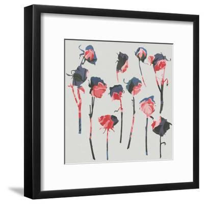 Rose 1-Garima Dhawan-Framed Art Print
