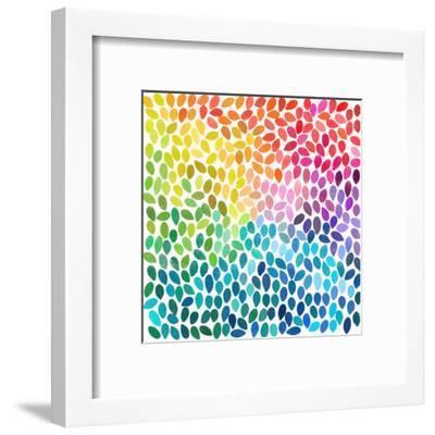 Rain 11-Garima Dhawan-Framed Art Print