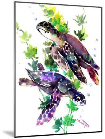Turtle-Suren Nersisyan-Mounted Art Print