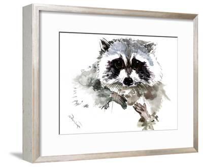 Raccoon 1-Suren Nersisyan-Framed Art Print