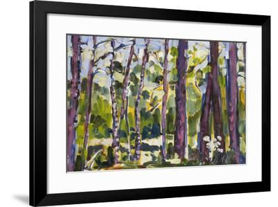 Brushy Treeline II-Erin McGee Ferrell-Framed Giclee Print