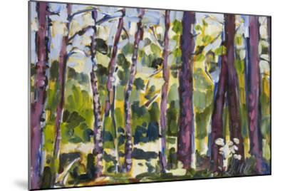 Brushy Treeline II-Erin McGee Ferrell-Mounted Giclee Print