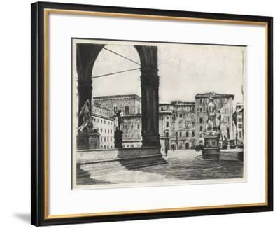Scenes in Firenze I-Unknown-Framed Giclee Print