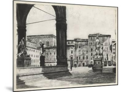 Scenes in Firenze I-Unknown-Mounted Giclee Print